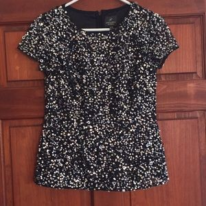 Beautiful Adrianna Papell Sequin top